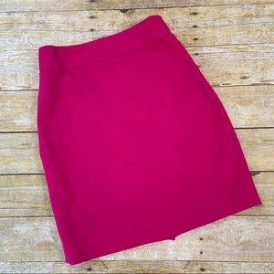 J.Crew Pink Pencil Skirt Size 4